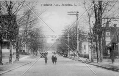 Flushing Ave (Parsons Blvd)., Jamaica, L.I., N.Y.