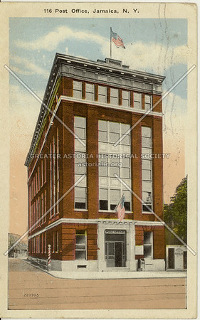 Post Office, Jamaica Ave. at Union Hall St., Jamaica, N.Y.