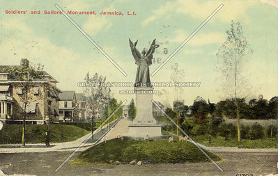 Solders' and Sailors' Monument, Hillside Ave at Merrick Blvd., Jamaica, L.I.