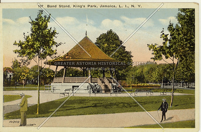 Band Stand, King's Park, Jamaica, L.I., N.Y.