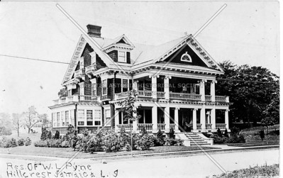 Res. of W. L. Pyne, Hillcrest Jamaica, L.I., N.Y.