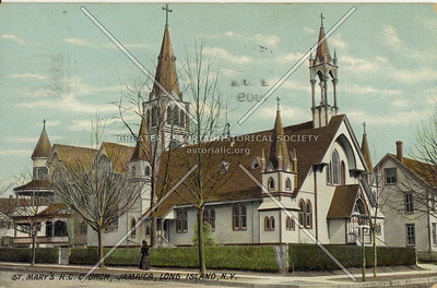 St. Mary's R.C. Church, Jamaica, Long Island, N.Y.