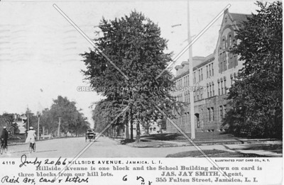 Jamaica High School, Hillside Avenue, Jamaica, L.I., N.Y.