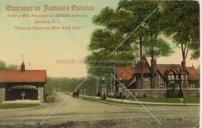 Entrance to Jamaica Estates Jamaica, L.I., N.Y.