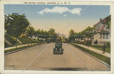 Clinton Avenue (164 St), Jamaica, L.I., N.Y.
