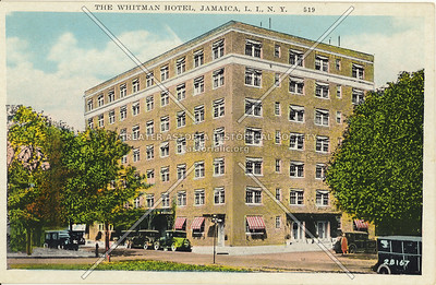 The Whitman Hotel, Jamaica, L.I., N.Y.