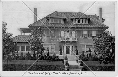 Residence of Judge Van Sinklen, Jamaica, L.I., N.Y.