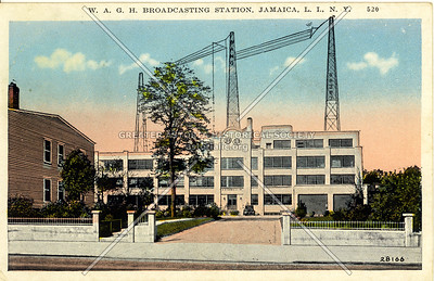 W.A.G.H. Broadcasting Station, Jamaica, L.I., N.Y.