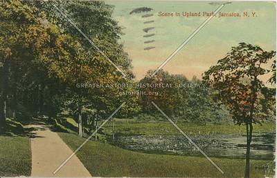 Scene in Upland Park, Jamaica, L.I., N.Y.