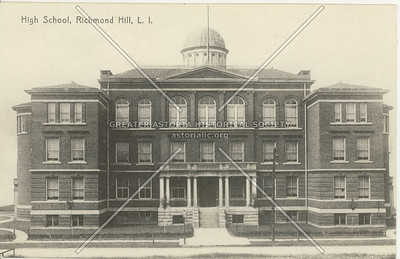 High School, Richmond Hill, LI, NY