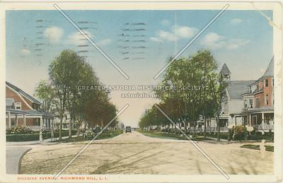 Hillside Ave., Richmond Hill, LI, NY
