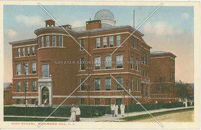 High School, Richmond Hill, LI, NY