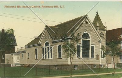 Richmond Hill Baptist Church, Richmond Hill, LI, NY