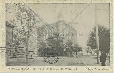 Woodhaven Bank and Post Office, Woodhaven, LI, NY