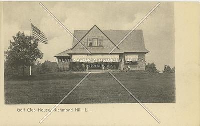 Golf Club House, Richmond Hill, LI