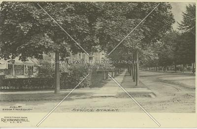 Spruce Street (121 St), Richmond Hill, LI, NY