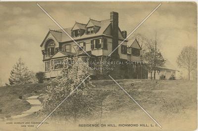 Residence on Hill, Richmond Hill, LI, NY