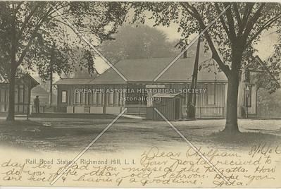 Long Island Rail Road Station, Richmond Hill, LI, NY
