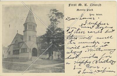 First M.E. Chirch, Morris Park, LI, NY