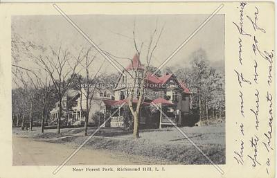 Near Forest Park, Richmond HIll, LI, NY