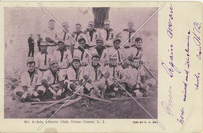 Iola Athletic Club, Union Course, LI, NY