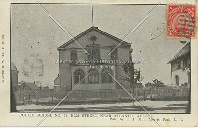 Public School No., 53, Elm Street (114 St), Near Atlantic Ave., NY