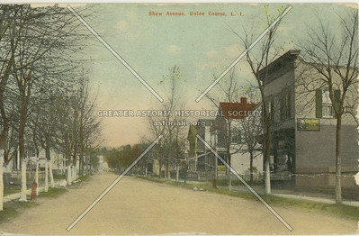 Shaw Ave (80 St)., Union Course, LI, NY