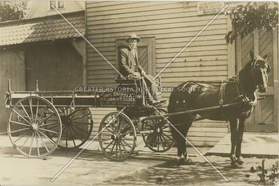 John Brinsley, Mason and Builder, 36-38-40 Jefferson Ave (116 Ave)., Richmond Hill, NY