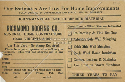 Richmond Roofing Co.,  131-19 Liberty Ave., Richmond Hill, NY