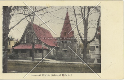 Episcopal Church, 118 St., Richmond Hill, LI, NY