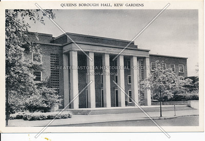 Queens Borough Hall, Queens Blvd., Kew Gardens