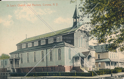 St. Leo's Church and Rectory, 104 St at 49 Ave., Corona, N.Y.