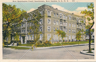 Kew Kensington Court Apartments, Union Turnpike at Austin St., Kew Garden, L.I., N.Y.