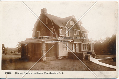 Newton Bigelow residence, Beverly Road at 83 Ave., Kew Gardens, L.I.