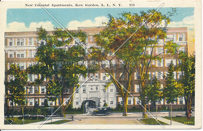 New Colonial Apartments, Kew Gardens, L.I., N.Y.