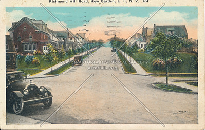 Richmond Hill Road (83 Ave), Kew Garden, L.I., N.Y.