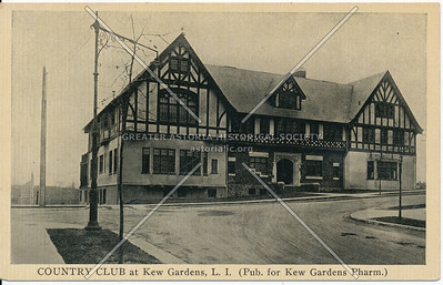 Country Club at Kew Gardens, L.I., Lefferts Blvd. at Austin St.