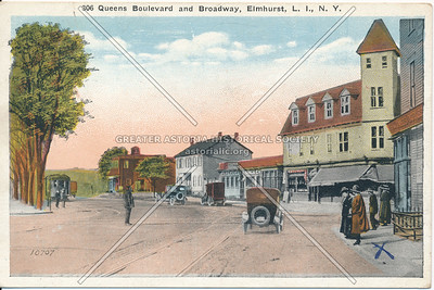 Queens Boulevard and Broadway, Elmhurst L.I., N.Y.