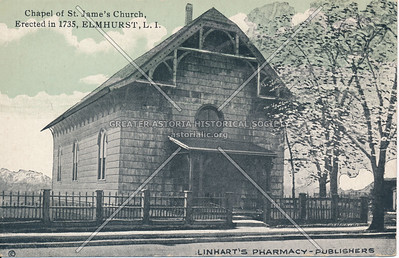 Chapel of St. James Church, Elmhurst L.I.
