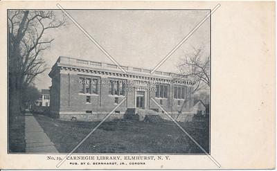 Carnegie Library, Elmhurst N.Y.