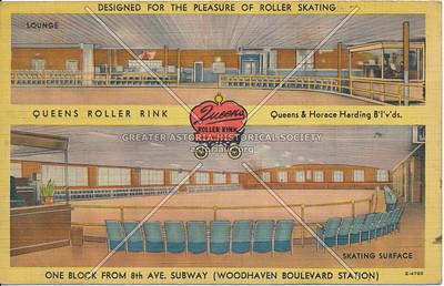 Queens Roller Rink, Queens & Horace Harding Blvd
