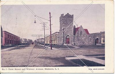 Third Street (Judge St) and Whitney Avenue, Elmhurst L.I.