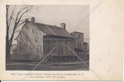 """The """"Old Corner House"""", Hoffman Boulevard (Queens Blvd) , Elmhurst N.Y."""