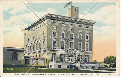 New Home of Queensborough Lodge, Elmhurst L.I., N.Y.