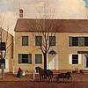 postcard Newark Museum House & Shop of David Alling NJ 1EK-223