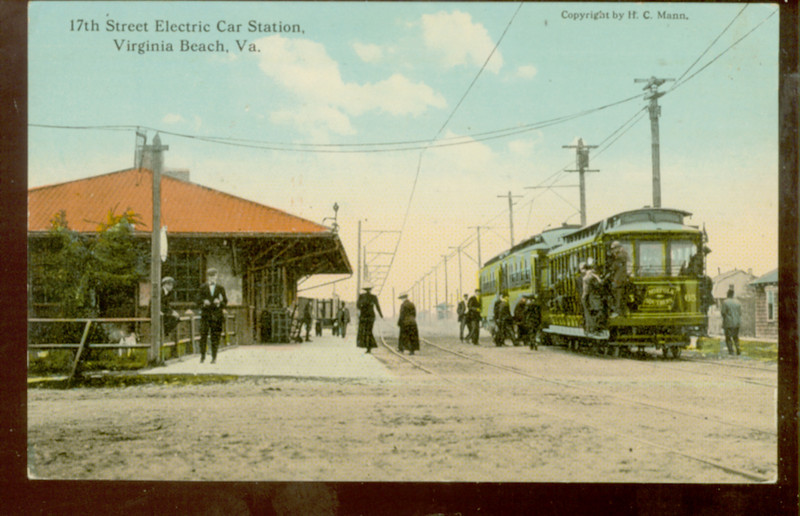 17th St ELECTRIC CAR Station VIRGINIA BEACH VA<br /> 304499866_gNCpk