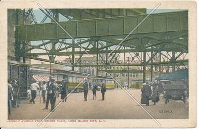 Queensboro Plaza elevated train complex