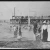 Pier and bathing beach, North Beach