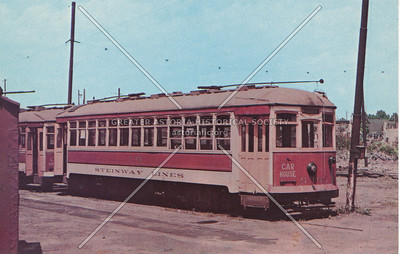 Steinway Lines trolley coach