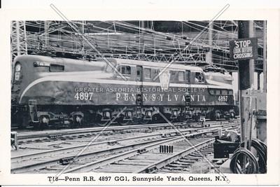 Locomotive in Sunnyside Yards